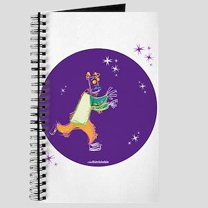 Clowny Mime Bear [purple] Journal